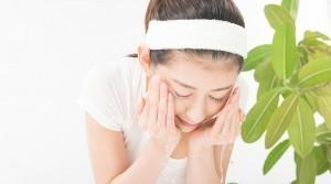 ニキビ予防には個々に合った刺激のない洗顔を!