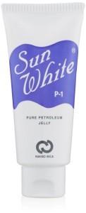 サンホワイトP1 ワセリン 白ニキビ