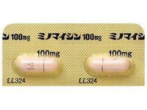 ミノマイシン ニキビ 皮膚科 薬